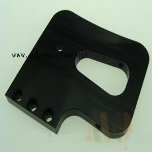 China OEM CNC Milling Black Anodized Machine Parts (MQ2111) pictures & photos