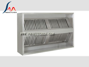 Island Style Exhaust Hood, Exhaust System, Size Can Be Customized pictures & photos