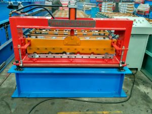 Iraq Style Roofing Roll Forming Machine Supplier Automatic Machine pictures & photos