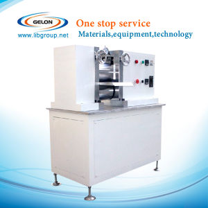 Hot Rolling Press Machine for Lithium Polymer Battery Electrode Piece (GN-GY-150) pictures & photos