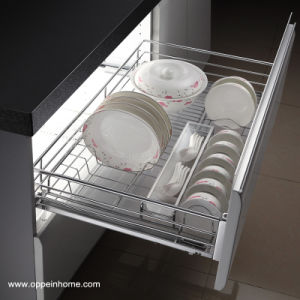 Oppein Stainless Steel Pull-out Basket for Plate (OP-LB080WLA-1) pictures & photos