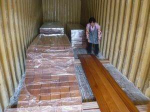 Oiled Brazilian Teak Outdoor Wood Decking