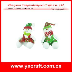 Christmas Decoration (ZY14Y350-1-2) Decorative Christmas Snowman Product Display pictures & photos