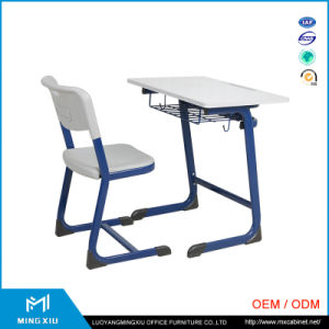 Hot Sell Cheap School Desk and Chair / Single Student Desk and Chair pictures & photos