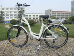 Rear Rack 36V 250W Electric Chopper Bicycle for Sale pictures & photos