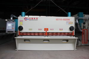 Hot Sale Q11Y Hydraulic Guillotine Shearing/Cutting Machine (QC11Y-6X2500) pictures & photos