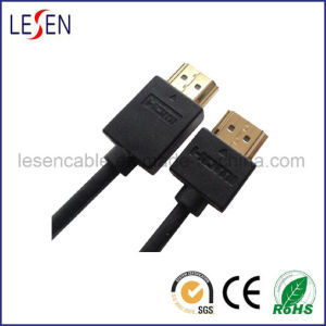 Ultra-Slim HDMI Cable with Ethernet, Am to Am Plug pictures & photos