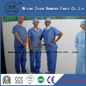 Disposable Medical SMS PP Non Woven Fabric for Hospital pictures & photos