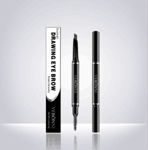 China The Newest Makeup Brand Veronni 5 Colors Eyebrow Pencil with Eyebrow Brush pictures & photos
