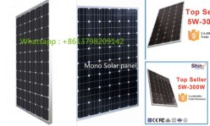 150W Monocrystanlline Solar Panel with 25 Years Lifetime pictures & photos