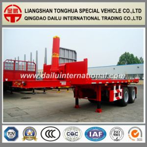2-Axles 20 FT Rear Self Dumping Container Semi Trailer pictures & photos