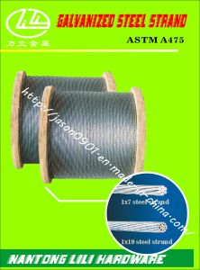 ASTM A475 Galvanzied Steel Strand (CLASS A EHS) pictures & photos