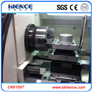 China CNC Lathe Fanuc Controller CNC Turning with Hydraulic Chuck Ck6150t pictures & photos