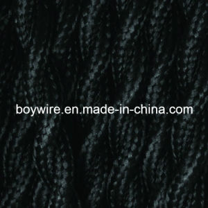 Black 2 Conductor Braided Wire (YW-8001) pictures & photos