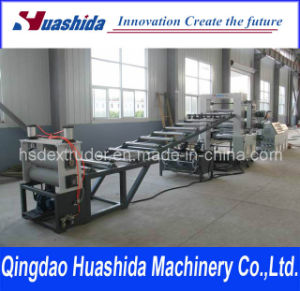 Plastic PP/PE/PVC Board Extrusion Line pictures & photos