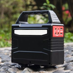 20W Solar Energy Generator Portable Power Bank with Solar Panel for Home/Outdoor pictures & photos