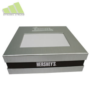 Open Window Transparent Box Plastic PVC Packaging Box for Electronics