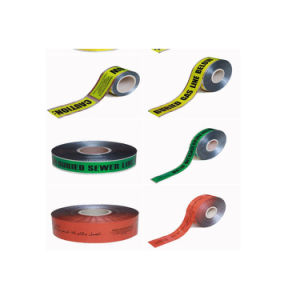 High Visibility Traffic Barrier Tape Caution Safety Tapes Hazard Warning Tape pictures & photos