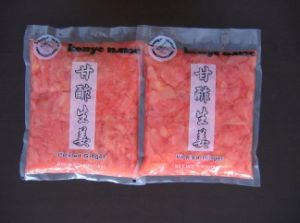 Sushi Ginger Packing in Mesh Bag pictures & photos