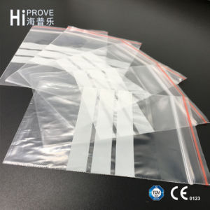 Ht-0542 Hiprove Brand Grip Seal Bag Bag with White Bar pictures & photos