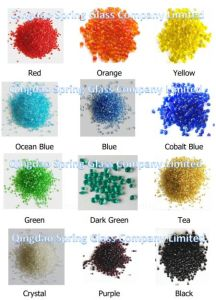 Qingdao Colourful Sea Glass Beads pictures & photos