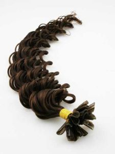Tangle Free 1-2 Years European Remy Fusion Hair Extensions pictures & photos