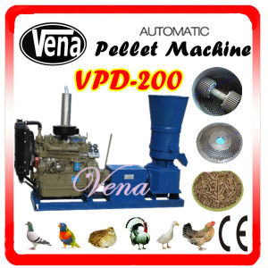 High Quality Animal Feed Pellet Machine with Digital Control (VPD-200) pictures & photos