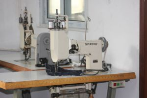 Handle Operated Single (Twin) Needle Universal Lockstitch Embroidery Machine (ES-1114-100)