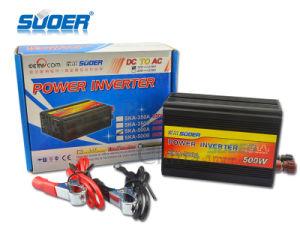 Suoer Power Inverter 500W Solar Power Inverter 12V to 220V (SKA-500A) pictures & photos