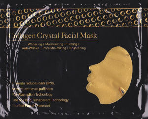 24k Gold Pure Collagen Pore Cleaner Anti Wrinkle Facial Mask for Beauty Salon pictures & photos