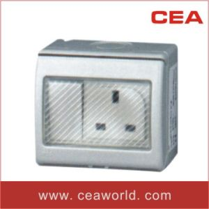 Water Proof / Weather Protected British Standard Wall Switch&Socket 13A 250V IP55 Surface Mounted (CEW-SS) pictures & photos