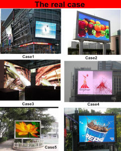 SMD P8 Outdoor 256*128 mm 32*16 Pixel RGB LED Video Wall Full Color LED Display Module pictures & photos