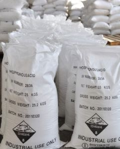 Good Price Phosphorous Acid 98% 99% CAS MSDS pictures & photos