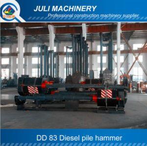 Dd Guide Rod Type Diesel Pile Hammer. Dd 83 Pile Hammer
