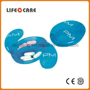 Medical Plastic Pillbox Counter Tray with Knife pictures & photos