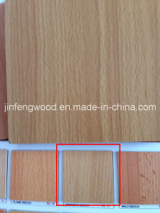 Furniture Board Popular Beech Color 18mm Melamine MDF pictures & photos