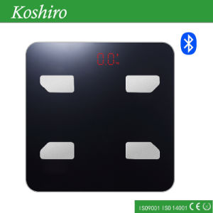 180kg Bathroom Body Fat Scale with Free APP Connected Scale pictures & photos
