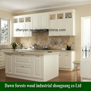 Kitchen Furniture Parts PVC Film MDF Kitchen Cabinet Door pictures & photos