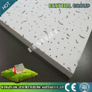 Sound Absorption Mineral Wool Fiber Ceiling Board