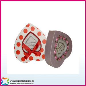 Heart-Shaped Gift Box with Decoration (XC-1-053) pictures & photos