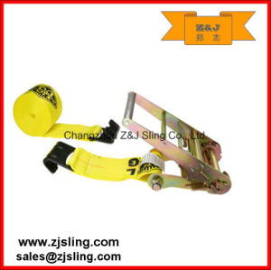 En12195-2 Endless Polyester Ratchet Strap Tie Down (can be customized) pictures & photos