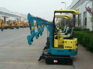 China Factory Price 0.8t Mini Excavator for Sale pictures & photos