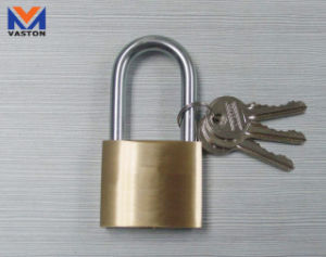 Long Shackle Brass Padlocks, Comes in Thick Type pictures & photos