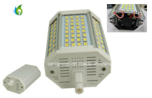 AC85V~265V R7s 118mm 30W LED Lamp with Fan 100lm/W pictures & photos