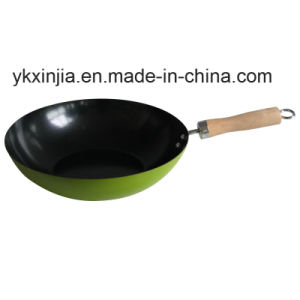 Kitchenware Colorful Carbon Steel Non-Stick Cookware Chinese Woks pictures & photos