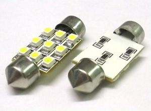 3528 9SMD 36mm 6 PCS White Color Car LED Festoon pictures & photos