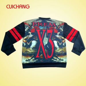 Wholesale Heat Transfer/Silk Screen Print Polyester/Cotton Custom Design Sweatshirt Wy-007