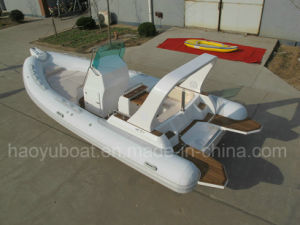 CE Certified 6.8m Inflatable Rib Boat, Rescure Boat, Fishing Boat, Dive Boat, PVC and Hypalon Boat Rib680 for Sale pictures & photos