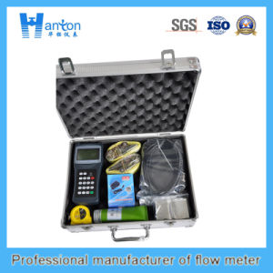 Ultrasonic Handheld Flow Meter Ht-0283 pictures & photos