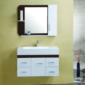 Hot Sale PVC Bathroom Cabinet with CE Certificate pictures & photos